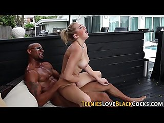 Teeny gets rammed by bbc