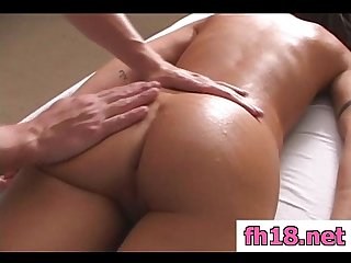 Hot 18 year old latina gets fucked hard