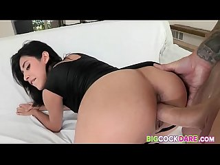 Young Teenager Enjoys Fucking A Big-Dick