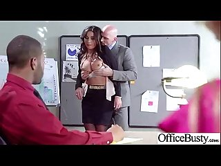 Hard Sex in Office with big round boobs sluty girl lpar stephani moretti rpar Video 30