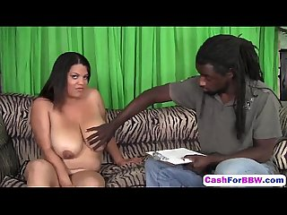 Busty Plumper Pussy Banged For Cash By Black Shaftk-workout-hd
