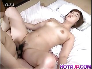 Japanese AV Model has hot tits fucked