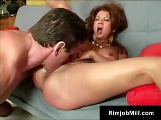 Freaky mature cougar raquel goes crazy for young assholes