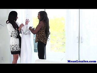 Mature lezdom fun with ebony diamond jackson