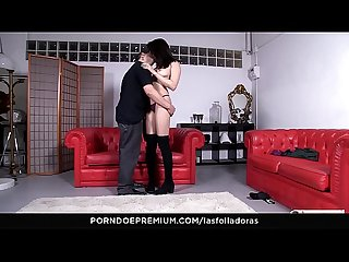 LAS FOLLADORAS - Horny Asian pornstar Miyuki Son picks up and fucks amateur guy