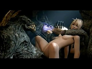 ã?Awesome-Anime.comã??3D Anime - Marie Rose fucked by monsters (from Dead or..