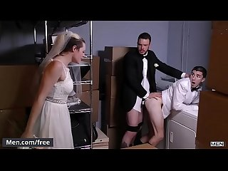 Men.com - (Cliff Jensen, Damien Kyle) - Runaway Groom - Str8 to Gay -..