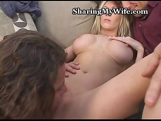 Blonde Bombshell Craves New Cock