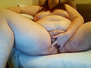 Edging and cumming chick from bbwcurvy period com