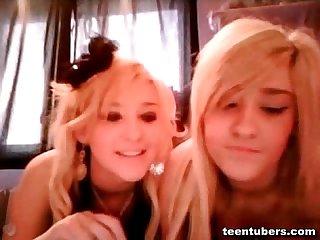 Rich teen lesbian girls