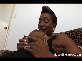 Kaleah Take A Huge Black Cock On Her Mouth