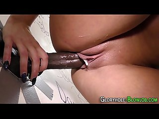 Cocksucking ho creampied