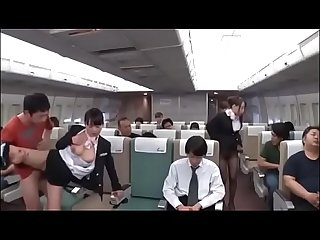Japanese flight with sex service