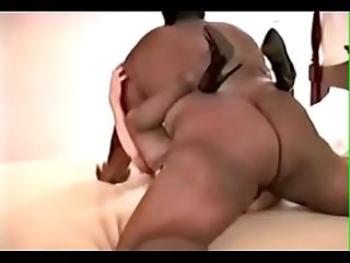 BIG Black Fat Bull Ravishes Blonde Pt 1