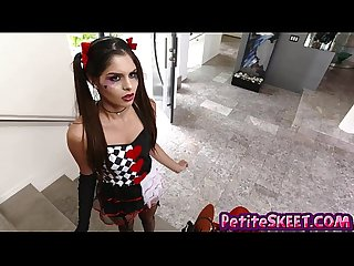 Bomb squad latina teen Katya Rodriguez gets big dick