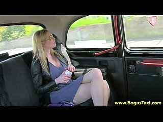 Amateur euro milf rammed in back of cab