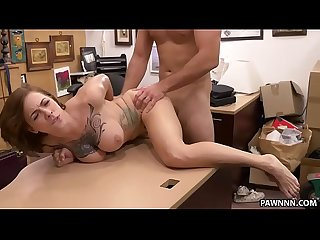 Tattooed Harlow Harrison fucks for money - XXX Pawn