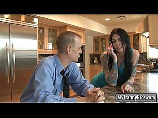 Gorgeous tranny Chelsea Marie analyzed