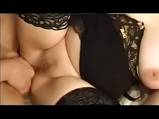 French mature gets anal sex