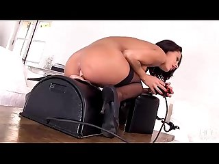 French seductress nikita bellucci rides the sybian till she explodes
