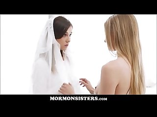 Mormon Girl Pleasures Her Church Sister With A Glass Dildo