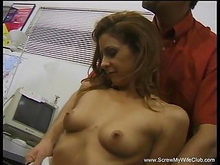 Milf fucks husband S friend
