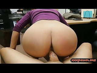 Busty amateur woman nailed by pawn dude