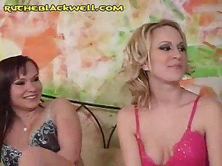 Ruthe and Kasha Suck Black