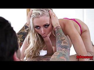 Hot Masseuse Katie Morgan Seduces Her Client