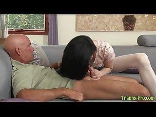 sexy tranny sucks dick