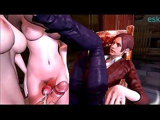 Resident Evil Futa Compilation