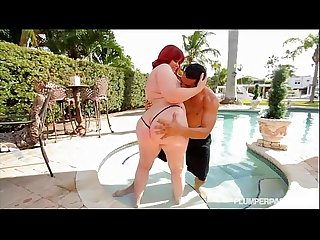 Big booty whooty marcy diamond is fucked by the pool