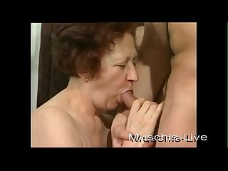 Grandma fucks with a younger man