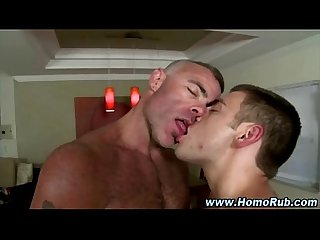 Supposedly straight guy takes cock