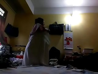 Dipali caught changing, ass gets shown