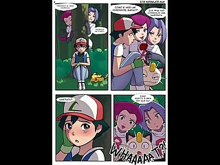 Pokemon comic Futanari League