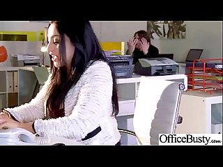 Horny girl audrey bitoni with big juggs hard banged in Office Mov 05