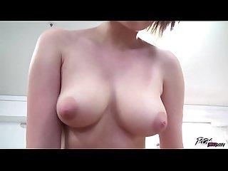 Povbitch big titty redhead roxy black rides and sucks in pov