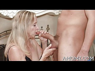 Addicted older in a sexy action