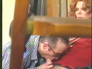 Vintage Shemale sucks cock and fucks her lover