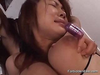 Group Of Horny Japanese Teens Explore Domination And Submission With Toys