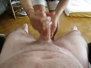 Obedient Asian Wife gives A long slow stroke