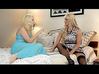 Busty Blonde Step-Mother Holly Heart and Samantha Rone