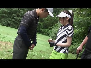 41Ticket - Michiru Tsukino Creampied by Golf Instructor (Uncensored JAV)