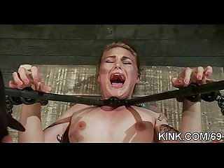 Hot girl dominated bound and fucked