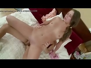 Petite sister Lost her virgin by big dick of her step bro