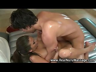 Slutty fetish hottie gets a cumshot