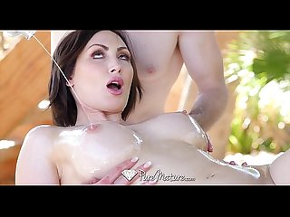 Puremature milf yasmin scott wet and wild anal fuck