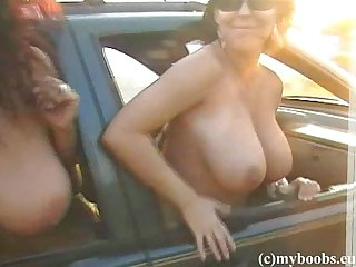 Aneta Buena and Kora on trip