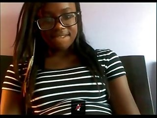Hairy nerdy black girl skype from blackscrush com